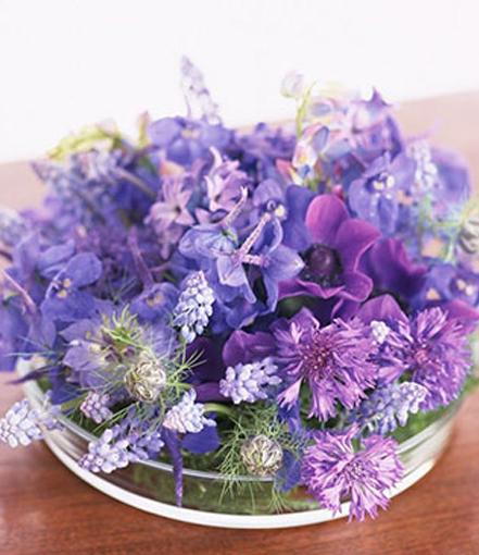 玻璃罩桌花台花商务鲜切花